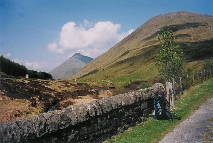 Between Tyndrum and Bridge of Orchy